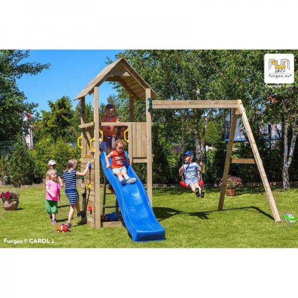 Детска площадка с пързалка и люлка Carol 2